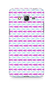 Amez designer printed 3d premium high quality back case cover for Samsung Galaxy Grand Prime (Cool Arrow Pattern)