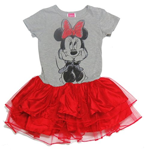 Disney Red Minnie Mouse Girls' Dress Size 4/5