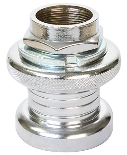 "Sunlite Threaded Headset, Road, 1"" x 22.2 x 30 x 27.0mm, Chrome Plated - 1"
