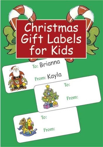 Christmas Gift Labels for Kids (Dover Stickers)