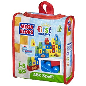 Mega Bloks Build 'n Learn ABC Spell