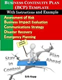 Business Continuity Plan (BCP) Template With Instructions and Example