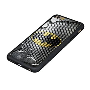 Batman iPhone 6 Protective Case,Durable Tough Hard Back Cover with Soft High Impact TPU Anti-Slip Edge,[Scratch Resistant] [Impact Resistant][Shock Absorption] [Drop Protection] Rugged Case Shells, Heavy Duty Poly-Carbonate (PC) Back Case and Black [Non S