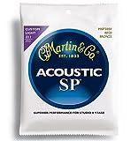 Martin マーチン アコースティックギター弦 SP 80/20 Bronze MSP-3050 .011-.052 カスタムライト 【国内正規品】