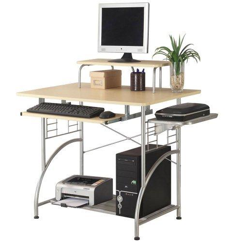 Ergocraft C-1122 Cormac Computer Desk, Maple Laminate