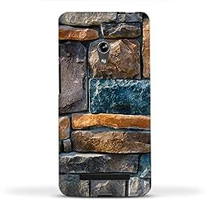 FUNKYLICIOUS Asus Zenfone 5 Back Cover 3D W A L L Design (Multicolour)