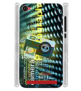 Vintage Digital Click Selfie Camera Soft Silicon Rubberized Back Case Cover for LYF Wind 6 :: Reliance Jio LYF Wind6