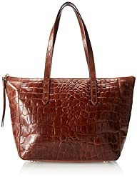 Fossil Sydny Crocodile Shoulder Bag,B…