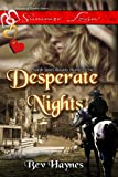 img - for Desperate Nights:Sarah Janes Bounty Hunter book / textbook / text book