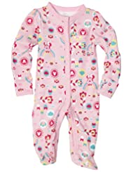 Amazon Disney Infant Apparel: Minnie Mouse Floral Rainbow Sleep & Play Romper $5.23