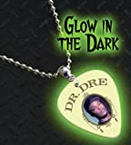 Dr Dre Glow In The Dark Premium Guitar Pick Necklace / Chain
