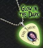 Dr Dre Glow In The Dark Premium Guitar Pick Necklace / Chain