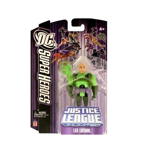 Justice League Unlimited Lex Luthor with Kryptonite Action Figure - 1