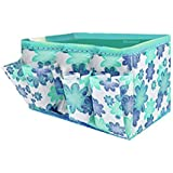 bocideal Makeup Cosmetic Storage Box Bag Bright Organiser Foldable Stationary Container