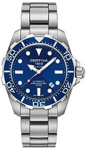 Certina C013.407.11.041.00 - Reloj de pulsera hombre, acero inoxidable, color multicolor