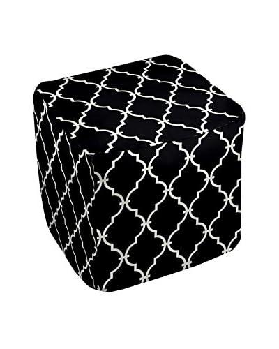 e by design Decorative Geometric Pouf