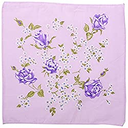 Romano Womens/Girls Vintage Multi Floral Wedding Party Cotton Handkerchiefs (...