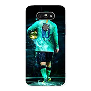 Ajay Enterprises Great Player 10s Back Case Cover for LG G5