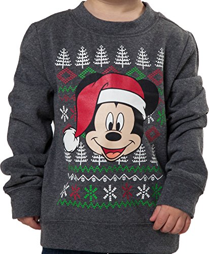 Toddler Mickey Mouse Christmas Sweatshirt
