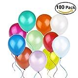 Tinksky Luftballons ,Farben Sortiert, 100 Stück