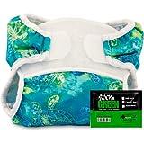 Bummis Swimmi Diaper w/Rockin Green (Turtles, Medium 15-22 lbs)