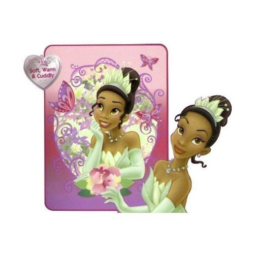 Disney Princess Tiana Micro-Raschel Throw