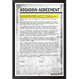 Hungover Assassin Agreement Poster Batman Arkham Origins Special Paper Poster (12x18 Inches)