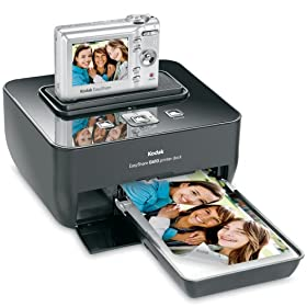 Kodak EasyShare C813 8.2MP Digital Camera with 3x Optical Zoom with G610 Printer Dock Bundle