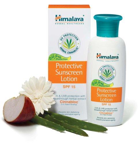 Kết quả hình ảnh cho Himalaya Herbals Protective Sunscreen Lotion