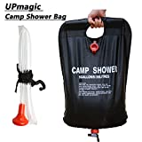 Search : Top Quality Camp Shower Bag 5 Gallon/20 Litter, Solar Heated Portable Shower Bag for Camping&Hiking, Light Weight Solar Shower Bag for Outdoor Activity
