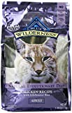 Blue Buffalo Wilderness Chicken Adult Dry Cat Food, 6-Pound Bag