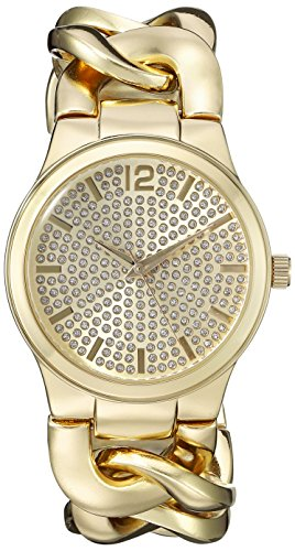 Vernier Paris Women's VNRP11201YG Analog Display Japanese Quartz Gold Watch