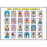 Let's Sign BSL Early Years & Baby Signs: Poster/Mats A3 Set of 2 (British Sign Language)by Cath Smith