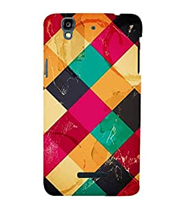 VINTAGE CHECK PATTERN 3D Hard Polycarbonate Designer Back Case Cover for YU Yureka::Micromax Yureka AO5510