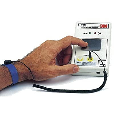 3M 746 Wriststrap Tester AC Power