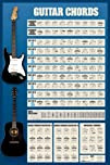 Guitar Chords Music Poster Print 24 by 36-Inch