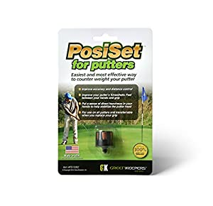 Greenkeepers PosiSet for Putters, Black, Small