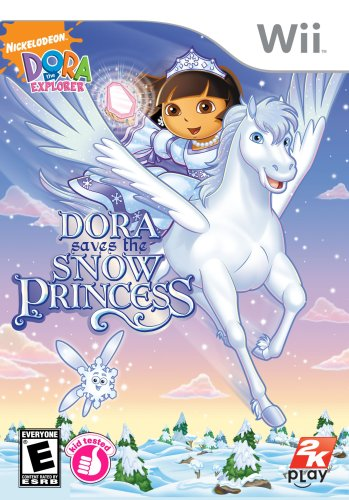 Dora The Explorer: Dora Saves The Snow Princess - Nintendo Wii front-80808