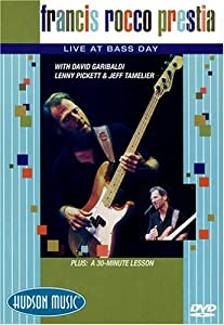 Francis Rocco Prestia Live At Bass Day DVD