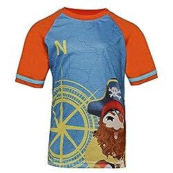 Boys round neck Pirate printed tshirt