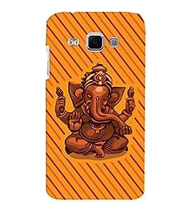 ColourCrust Samsung Galaxy J3 Mobile Phone Back Cover With Lord Ganesha Ganpati Devotional - Durable Matte Finish Hard Plastic Slim Case