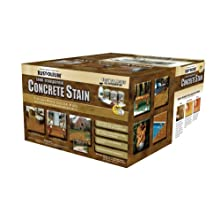 Rust-Oleum 239411A Concrete Stains Kit, Tuscan Rock Color Hues