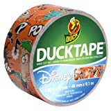 Duck Brand 281969 Disney-Licensed Phineas and Ferb Printed Duct Tape, 1.88-Inch by 10-Yard, 1-Pack