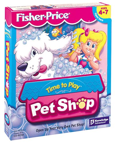 Fisher-Price Time To Play Pet Shop - Pc front-722591