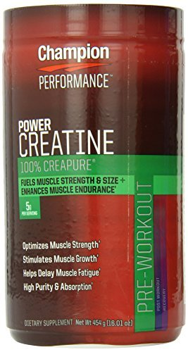 Champion Nutrition Creatine Power,Net Wt. 1 Pound (454 Gram) Jar