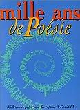 """Afficher """"Mille ans de poésie"""""""