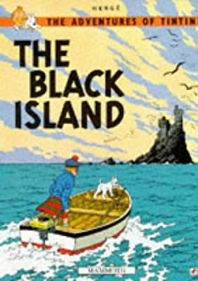 The-Black-Island-The-Adventures-of-Tintin-Herge-Used-Good-Book