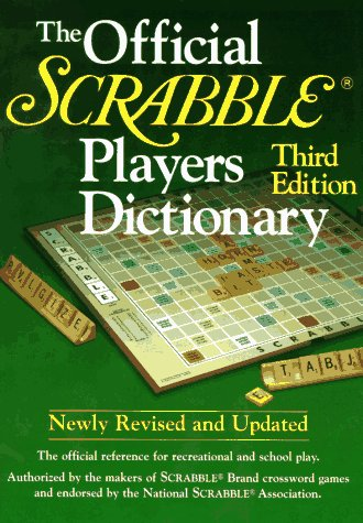 The Official SCRABBLE (r) Players Dictionary, Third Edition