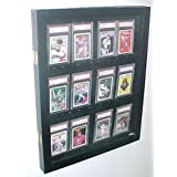 12 PSA Graded Card Display Case by Pennzoni Display