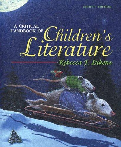 A Critical Handbook of Children's Literature (8th Edition)